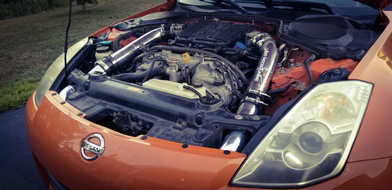 350z VQ35HR 2007-2008 with Dual Intakes